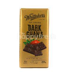 Whittaker's Cokelat Hitam Ghana 72% Kakao