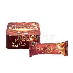 Wall's Es Krim Magnum Mini Classic 90ml dan Wall's Magnum Almond Es Krim 90ml