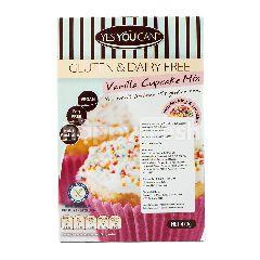 YES YOU CAN Tepung Premiks Cupcake Rasa Vanila Bebas Gluten & Bahan Susu