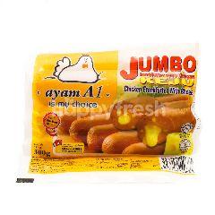 Ayam A1 Jumbo Chicken Frankfurter With Cheese