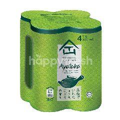 Authentic Tea House Ayataka Japanese Green Tea Drink 4x300ml
