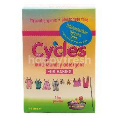 Cycles Deterjen Lembut Untuk Pakaian Bayi Bubuk
