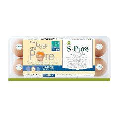 S-Pure Fresh Egg Large Size (10 Pcs)