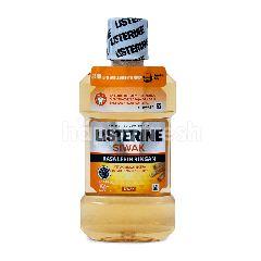 Listerine Obat Kumur Antiseptik Ekstrak Siwak