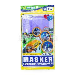 U-mask Masker Wajah Ungu