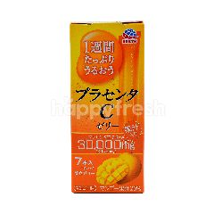 Earth Placenta Mango C Flavoured Jelly Supplement
