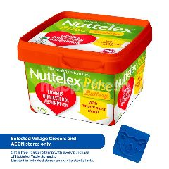 Nuttelex Margarine Spread Pulse Buttery 375G