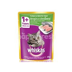 Whiskas Pouch Fresh Fish Tuna & White Fish Cat Food