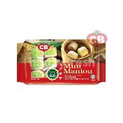 CB Mini Mantou Pandan (20 Pieces)