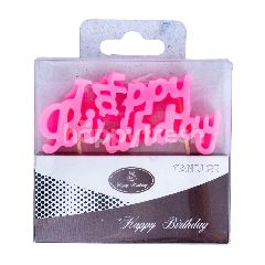 Lilin Ulang Tahun Happy Birthday