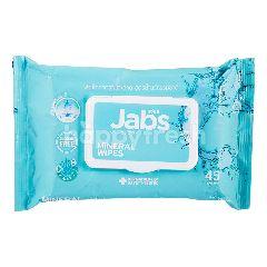 แจ๊บส์ ผ้าเช็ดทำความสะอาด สูตรน้ำแร่ธรรมชาติ (45 แผ่น)
