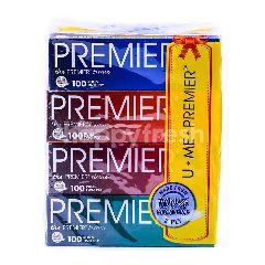Premier Value Pack U Me Premier Tissues (4pcs x 100 Sheets)