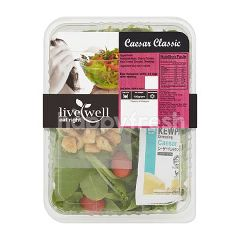 Live Well Ceaser Classic Salad