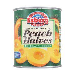 Esberg Peach Halves In Heavy Syrup