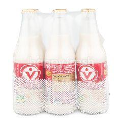 ไวตามิ้ลค์ นมถั่วเหลือง สูตรผสมข้าวบาร์เลย์ และมอลต์ 300 มล (แพ็ค 6)