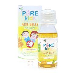 Pure Kids Aise Belly Natural Rasa Jeruk Mint