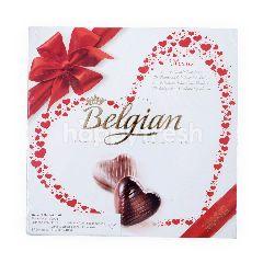 Belgian Cokelat Bentuk Hati