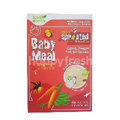 Love Earth Baby Meal Organic Sprouted Brown Rice Carrot, Tomato, Water Spinach