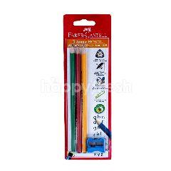 Faber-Castell 3 Pensil Anak-Anak  Rautan