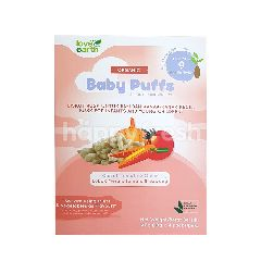 Love Earth Organic Baby Puffs Carrot, Tomato & Onions