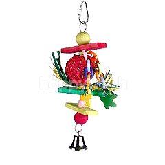 BeezTees Wooden Bird Toy - Trinox