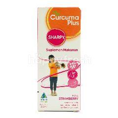 Curcuma Plus Sharpy Suplemen Makanan Rasa Strawberry