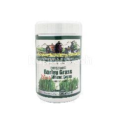 Simply Natural Premium Grade Organic Barley Grass Plus Wheat Grass