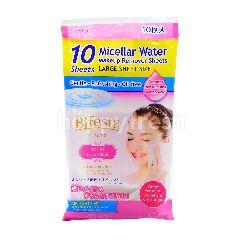 Bifesta Micellar Water Makeup Remover Sheet (10 Sheets)