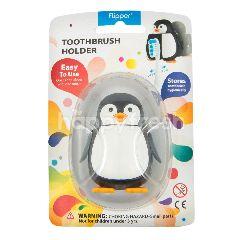Flipper Splash Tempat Sikat Gigi Anak Bentuk Penguin