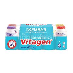 Vitagen Twin Pack Cultured Milk Drink Less Sugar (2x5's) Assorted Flavour