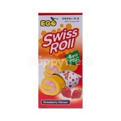 EGO  Swiss Roll Strawberry