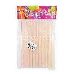 Happy Party Sedotan Bubble
