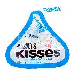 Hershey's Cokelat Putih Kisses Rasa Kukis dan Krim