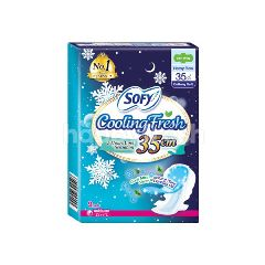 Sofy 35cm Cooling Fresh Pads (9 Pieces)