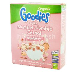 Organix Goodies Numbler Jumble Sereal Raspberry