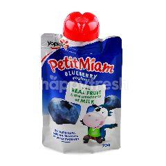 Yoplait Petit Miam Blueberry Yoghurt
