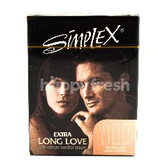Simplex Kondom Lateks Ekstra Long Love