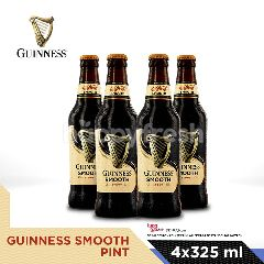 Guinness Smooth Stout 4 Bottles