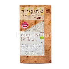 NUTRIGRACIA Organic Premium Rolled Oat