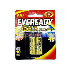 Eveready Alkaline Gold Battery AA (2 Pieces)