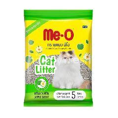 มี-โอ ทรายอนามัยสำหรับแมว กลิ่นแอปเปิล 5 ลิตร