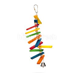 BeezTees Wooden Bird Toy - Tikkie
