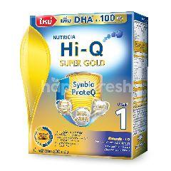ไฮ-คิว นมผงเด็กดัดแปลง ซูปเปอร์โกลด์ ซินไบโอโพรเทก