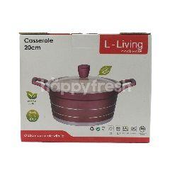 L-Living Panci Kaserol Keramik