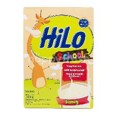 HiLo School Susu Bubuk Tinggi Kalsium Kurang Lemak Rasa Madu