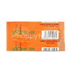 Vicee 500 Tablet Hisap Vitamin C Rasa Jeruk
