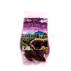 Fresh Farm Vegetables Japanese Murasaki Imo Purple Sweet Potato