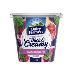 Dairy Farmers Thick & Creamy Caramelised Fig Yoghurt