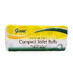 Giant Value Compact Toilet Rolls (10 Rolls)
