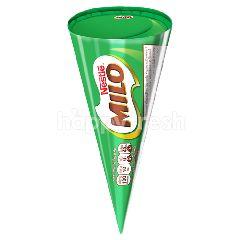 ไมโล ไอศกรีมดัดแปลง รสช็อกโกแลตมอลต์ แต่งหน้าด้วยชิ้นช็อกโกแลต 50 กรัม